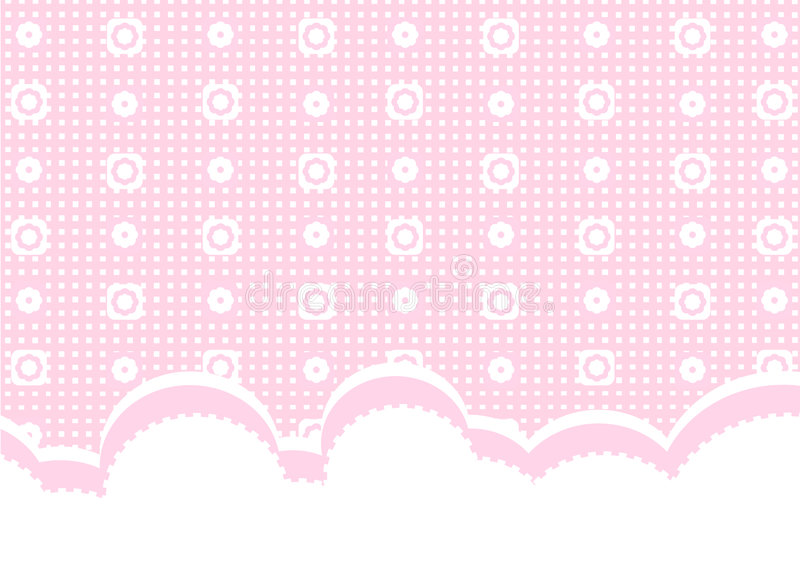 Happy Baby Girl Wallpaper Pink Baby Background Stock Images Image 7482784