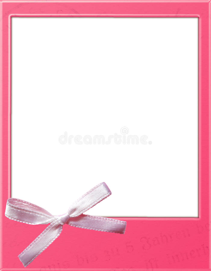 Pink polaroid template stock illustration Illustration of white - polaroid template