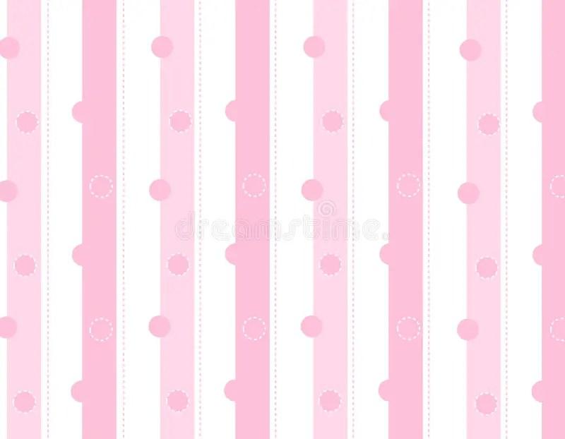 Cute Baby Pig Wallpaper Pink Stripes Background Stock Illustration Illustration