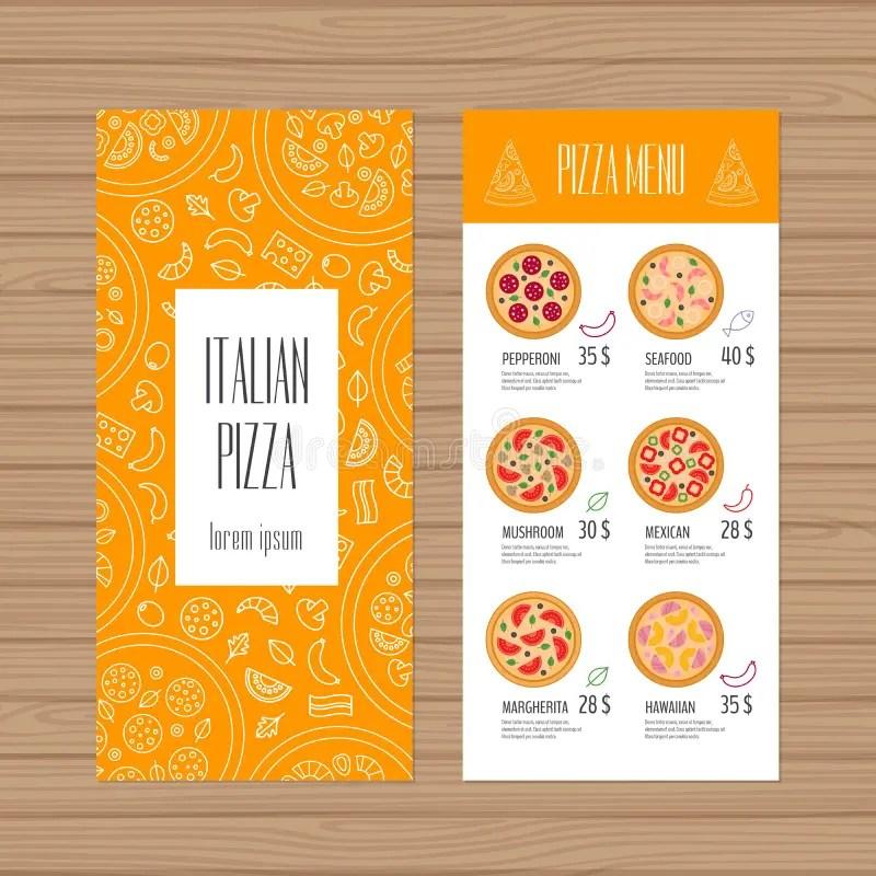 pizza menu design template - Manqalhellenes