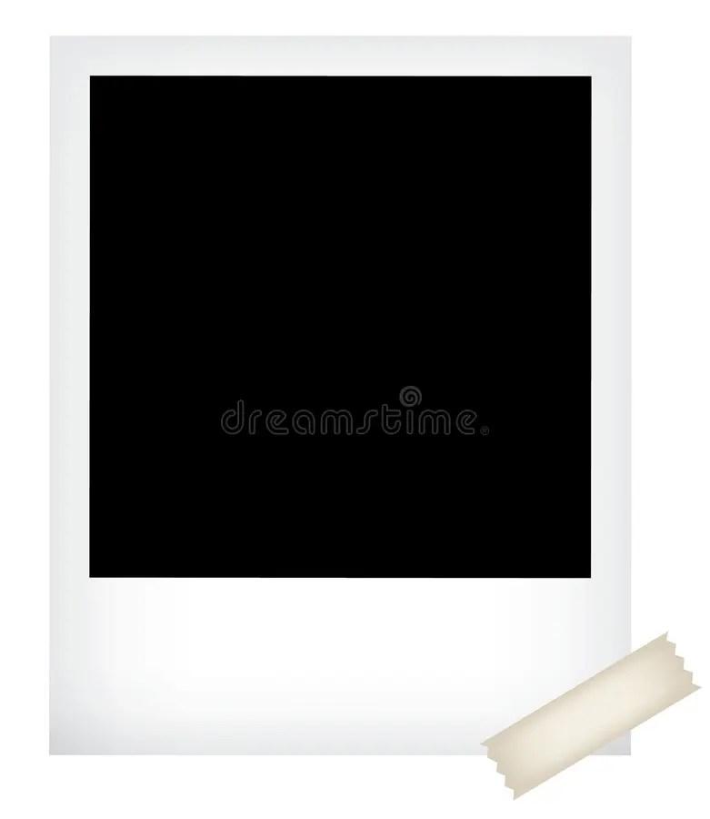 Polaroid photo template stock vector Illustration of pencil - 16669467