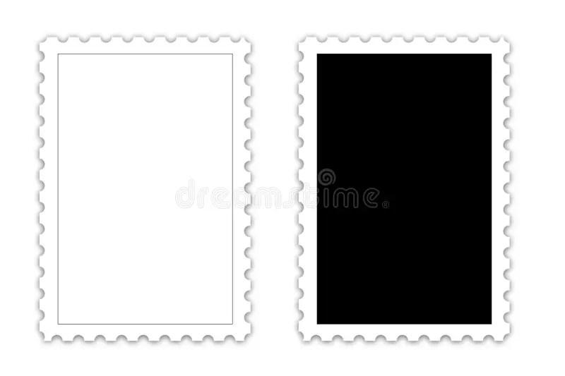 POSTAGE STAMP template stock illustration Illustration of line - stamp template