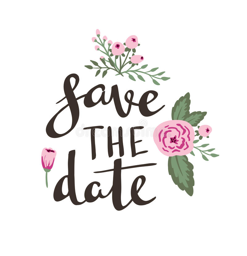 Poster Template - Save The Date Wedding, Marriage, Save The Date