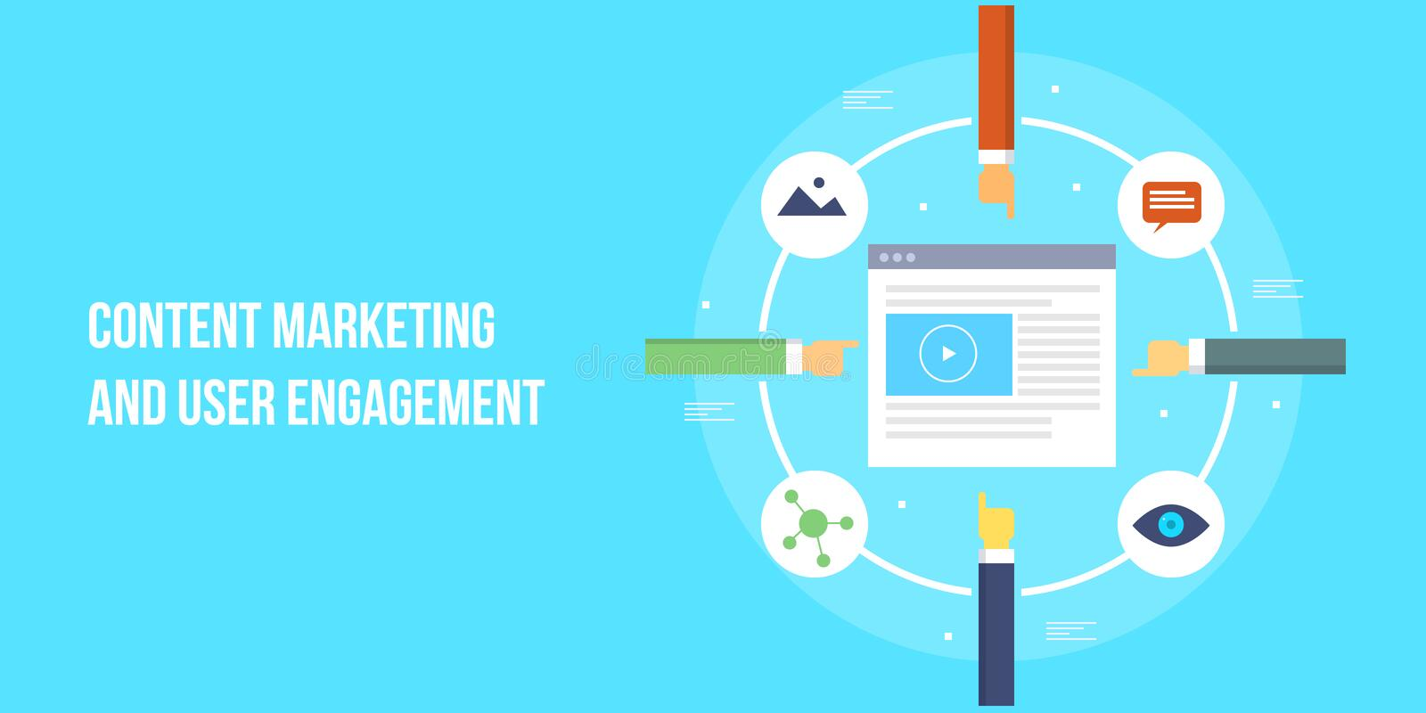 Producing Quality Content For User Engagement, Content Marketing