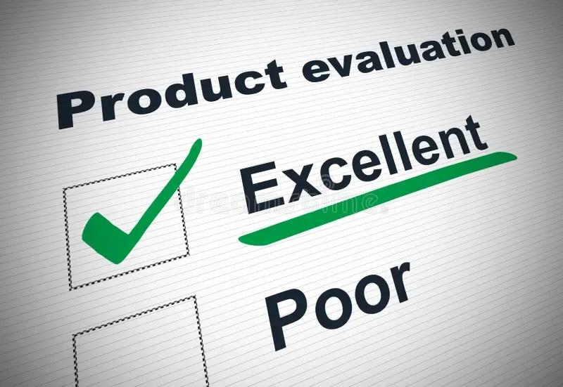Product evaluation form stock illustration Image of assessment - product evaluation form