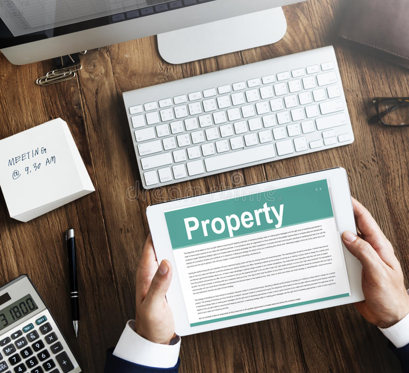 Property Release Form Assets Concept Stock Image - Image of loan - property release form