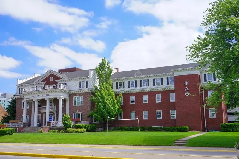 Purdue University Campus Building Stock Image - Image of classic