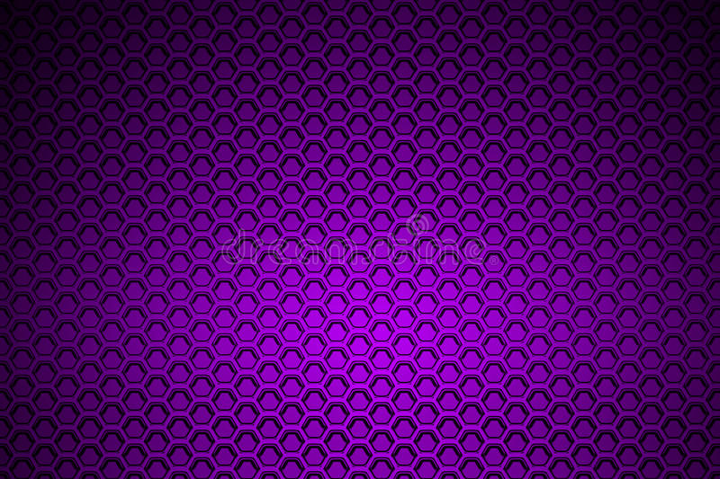 Purple Chrome Metallic Mesh Metal Background And Texture Stock