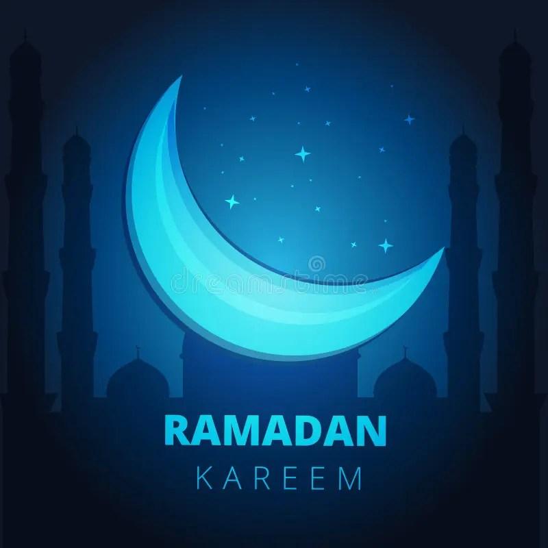 Ramadan Kareem Greeting Card Banner Background Template Layout