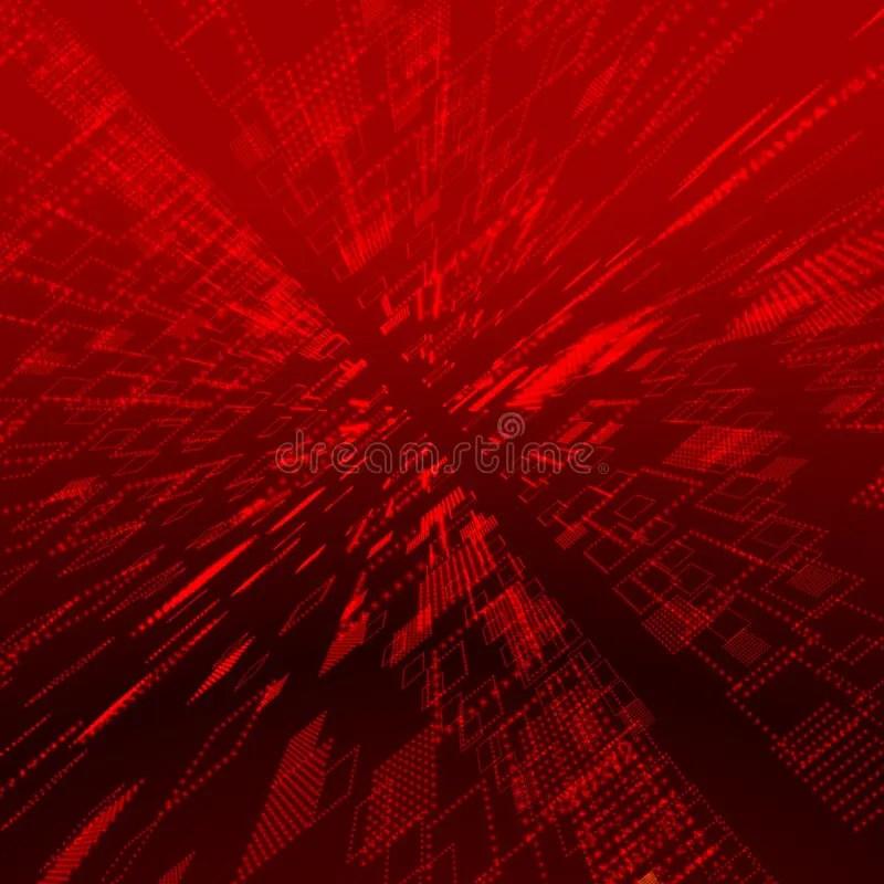 Matrix 3d Wallpaper Free Download Red Matrix Background Stock Illustration Illustration Of