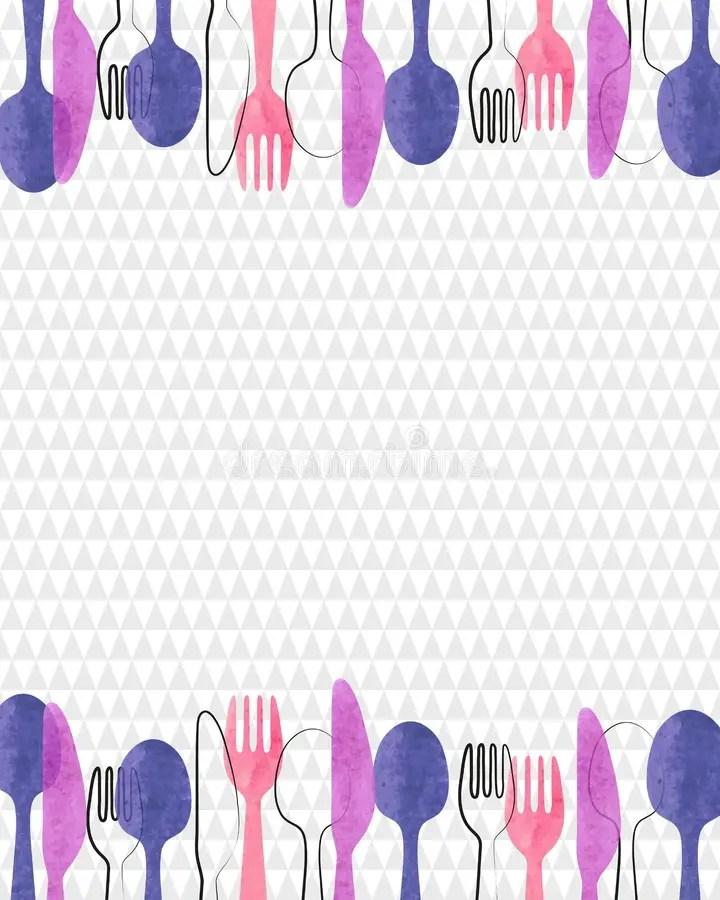 Restaurant Menu Card Design Stock Vector - Illustration of elegant
