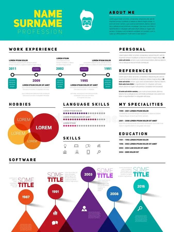 Resume Minimalist CV, Template With Simple Design, Company Appli - company resume