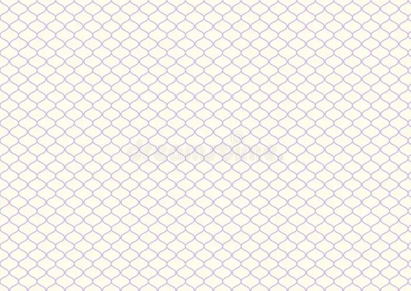 Retro Purple Net Pattern On Pastel Color Stock Vector - Illustration