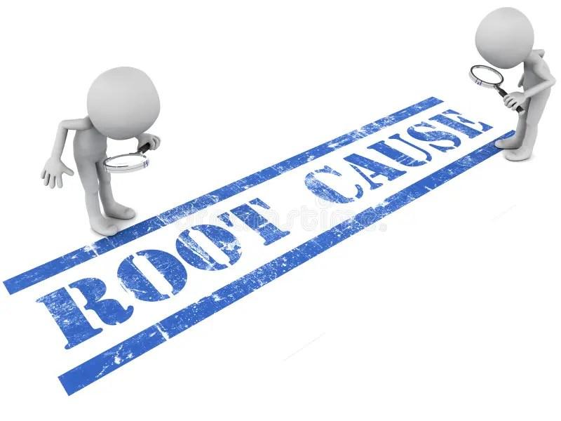 Root cause analysis stock illustration Illustration of words - 38379019 - root cause analysis