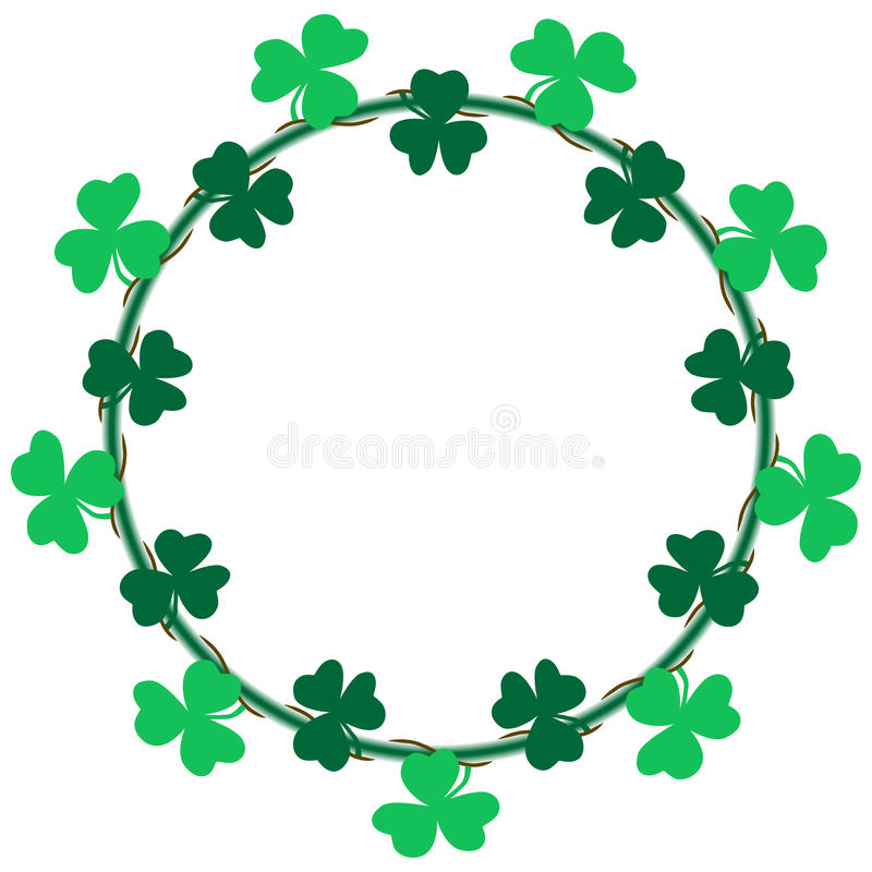 Clipart Shamrocks Borders - Awesome Graphic Library \u2022 - 's day borders