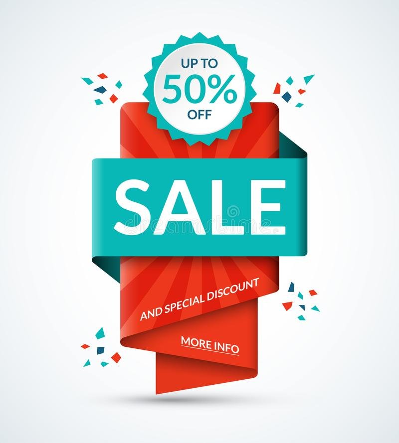 Sale Banner Special Offer Tag Discount Template Up To 50 Percent - sale tag template