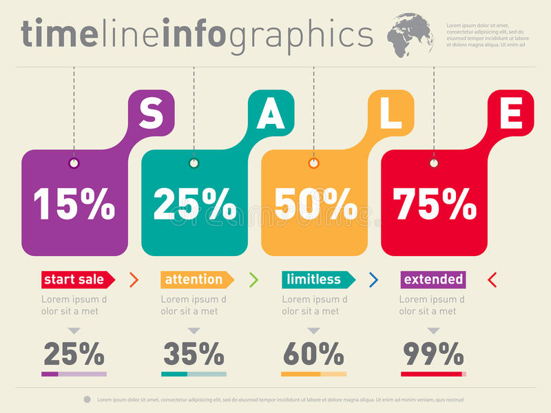 Sale Infographic Time Line Advertising Web Template Timeline O - advertising timeline template