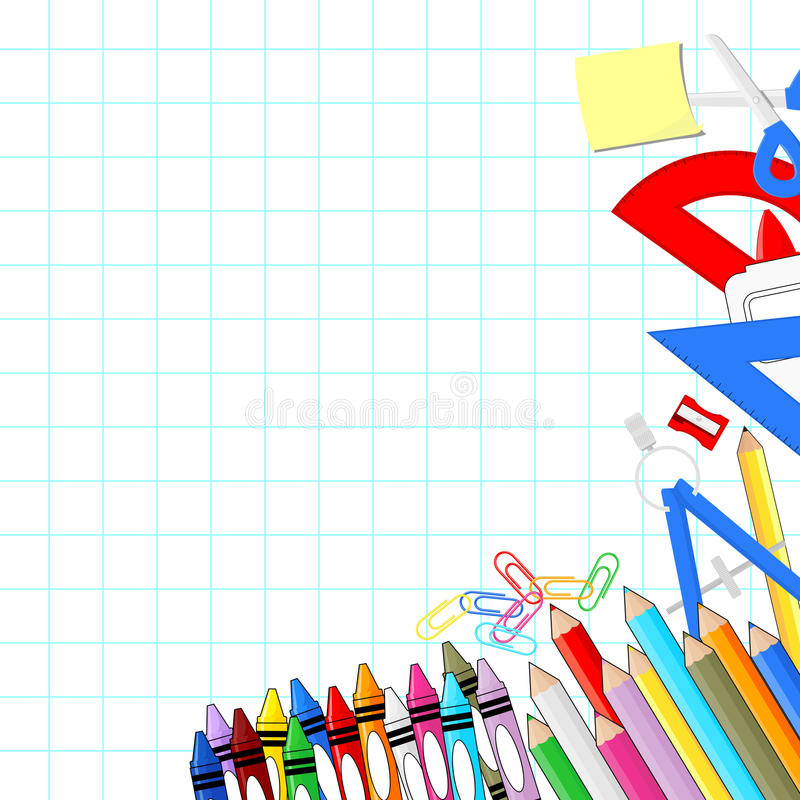 school supplies graph paper - Ozilalmanoof - loose leaf paper background