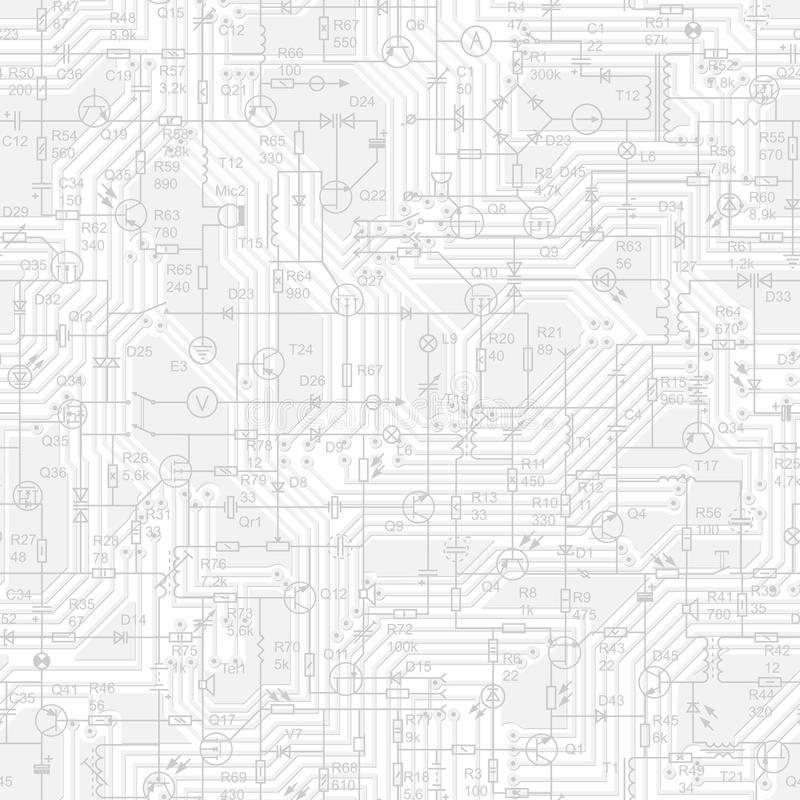 circuitry background seamless circuitry background