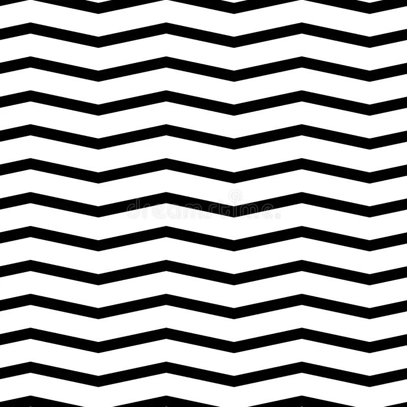 Seamless Chevron Pattern Monochrome, Black And White Zig Zag