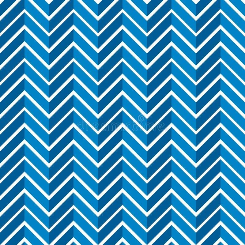 Seamless Jagged Chevron Pattern Background Stock Illustration