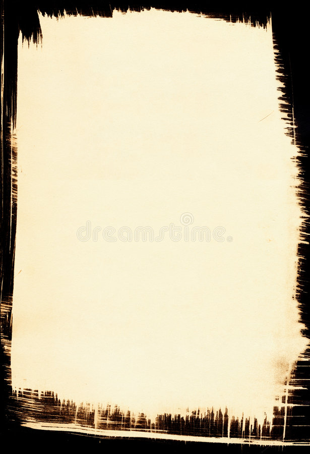 Sepia Background With Black Border Stock Illustration - Illustration - black border background