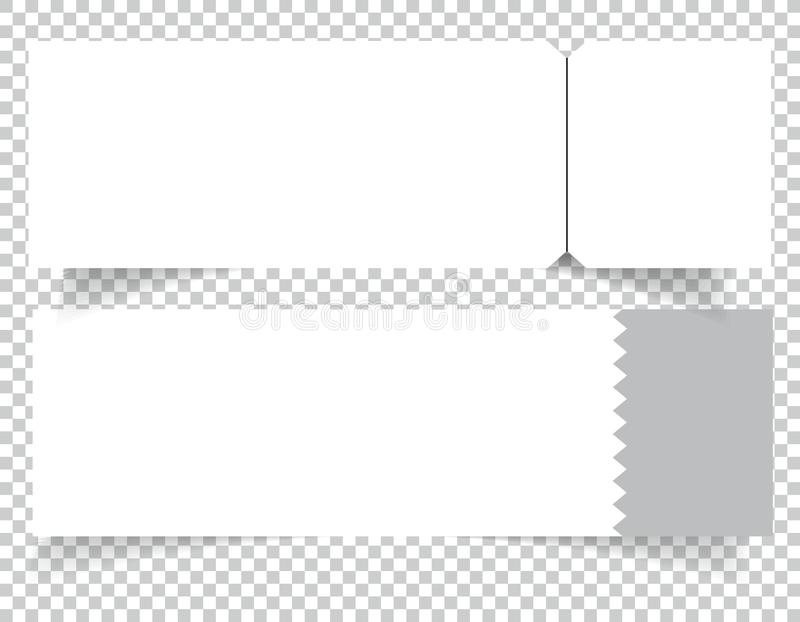 Set Of Blank Event Concert Ticket Mockup Template Concert, Party Or - make your own concert tickets