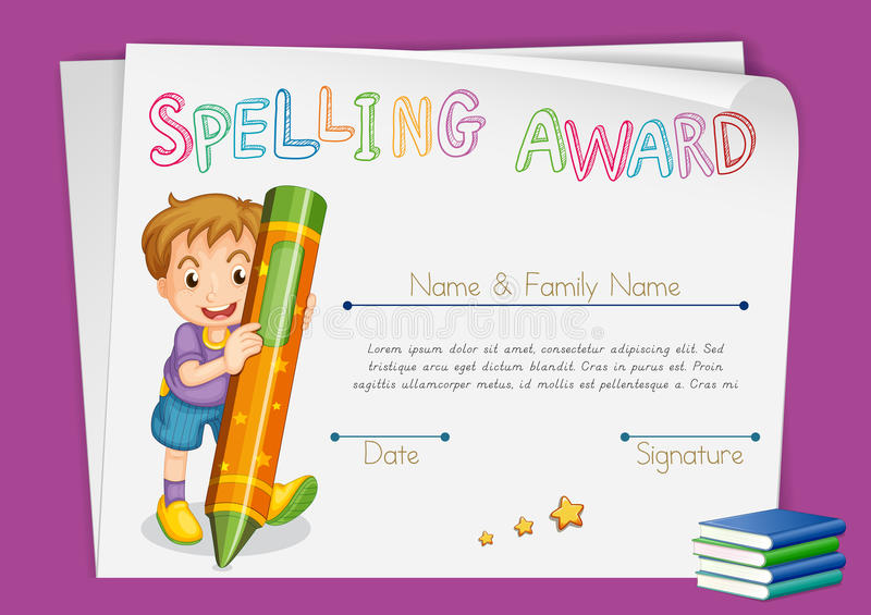 award certificate template for kids - Ucgenkubkireklamowe