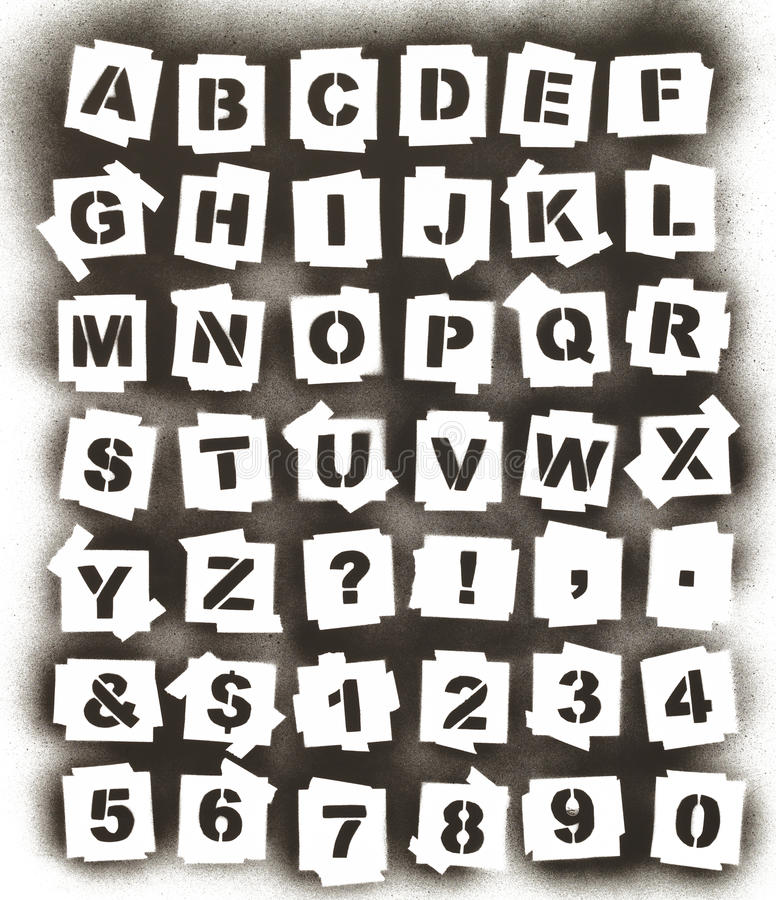 Spray Paint Alphabet stock photo Image of isolated, letter - 76066162