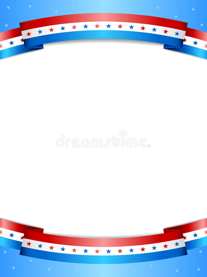 Stars And Stripes Background Stock Vector - Illustration of