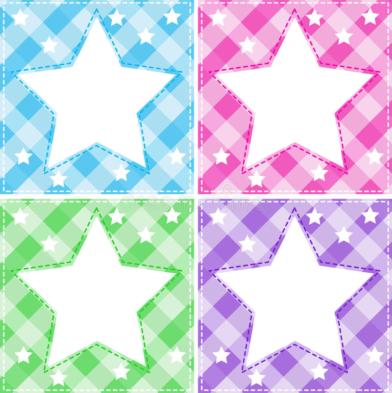 Stars template stock vector Illustration of light, cartoon - 49242767 - stars template