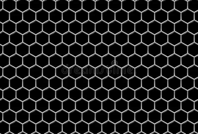 Audio Car Wallpaper Download Steel Grid With Hexagonal Holes Industrial Seamless