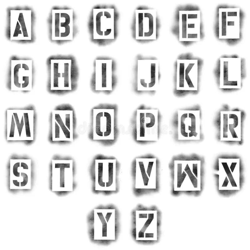 spray paint letter stencils - Erkaljonathandedecker