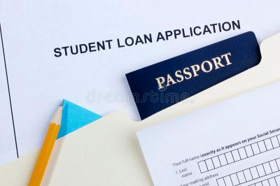 Student Loan Application Royalty Free Stock Images - Image: 26213289