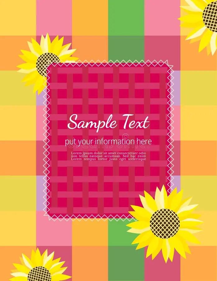 Summer flyer template stock illustration Illustration of layout - summer flyer template