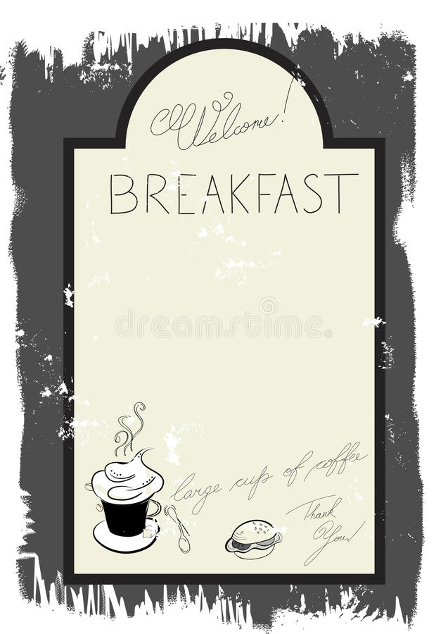breakfast menu template word