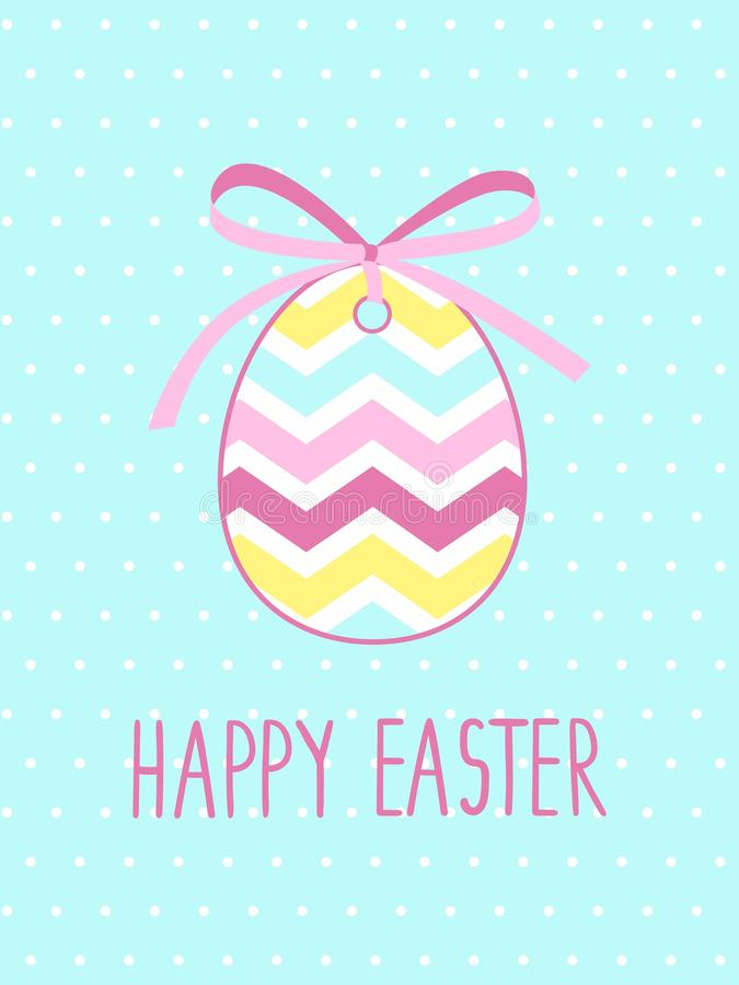 Template Easter Greeting Card Easter Background Stock Vector - easter greeting card template