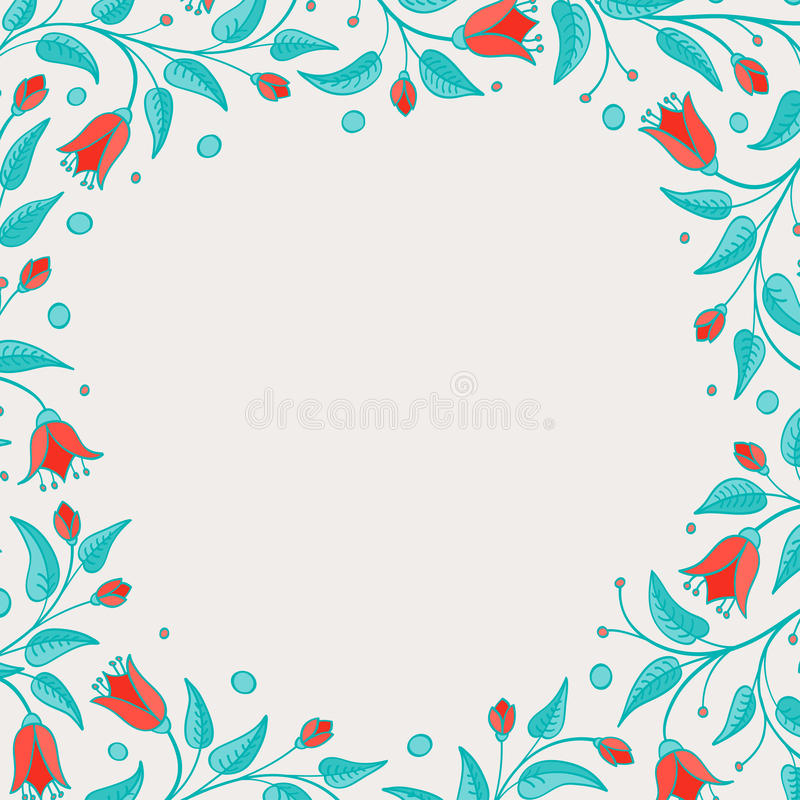 Template For Greeting Card Or Invitation Stock Vector - Illustration - birthday card invites