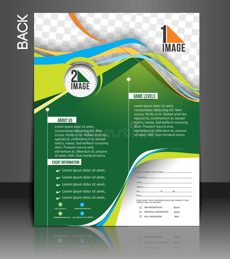 Tennis Competition Flyer stock vector Illustration of idea - 43385465 - competition flyer template