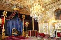 Throne Of Napoleon In Fontainebleau Editorial Photography ...