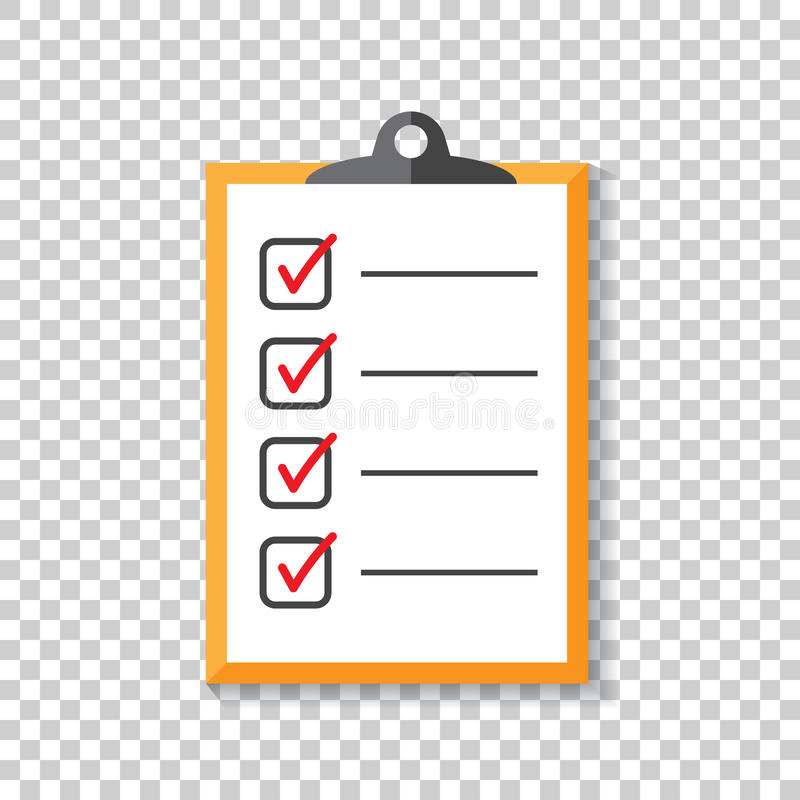 To Do List Icon Checklist, Task List Vector Illustration In Fla