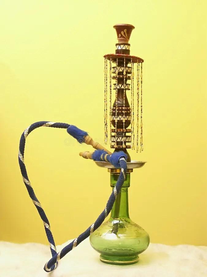 Tobacco water pipe stock photo. Image of marijuana, inhale