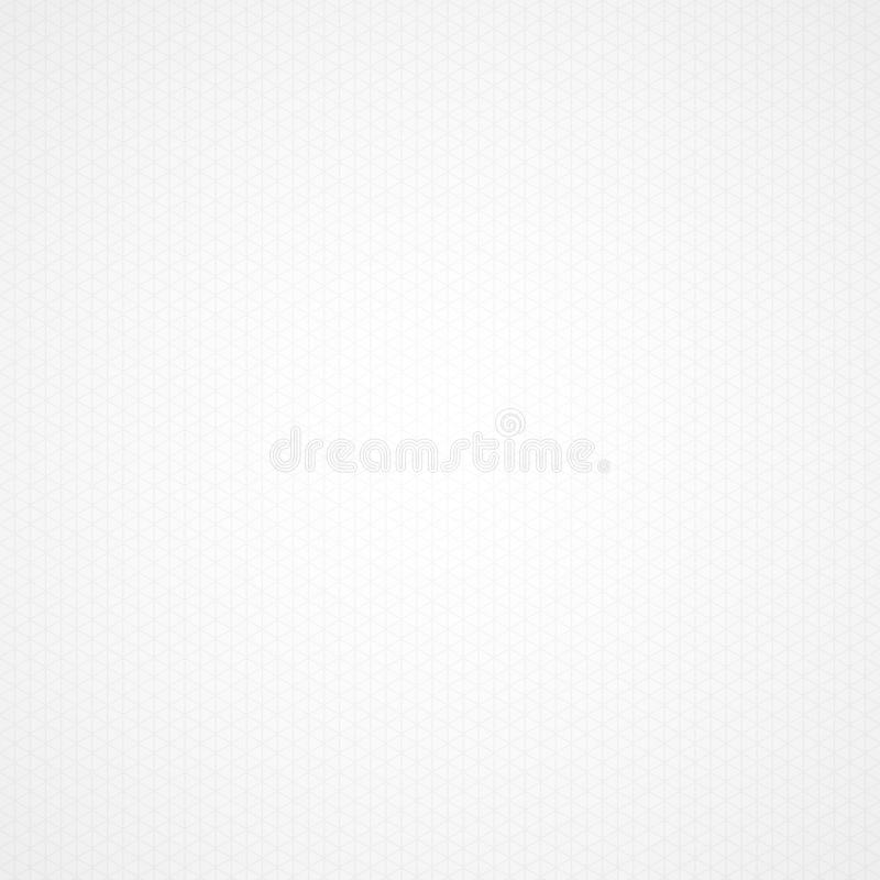 Triangle White Graph Paper Background Stock Vector - Illustration of