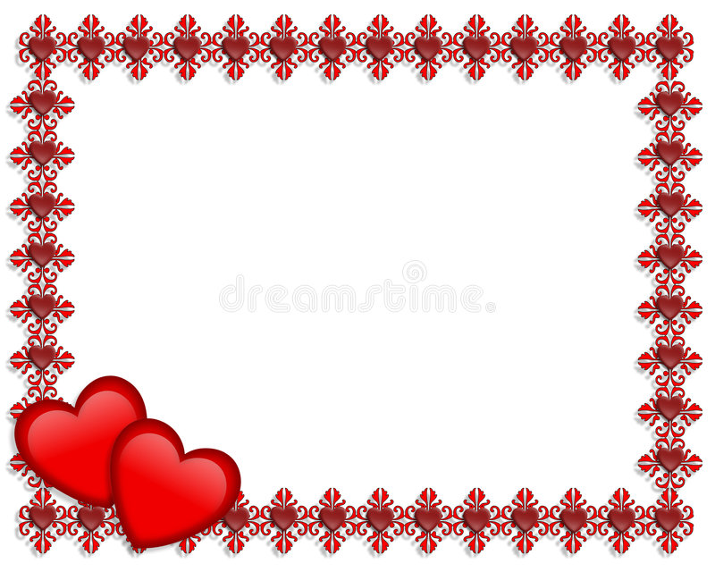 valentines day border black and white radiovkm - 's day borders