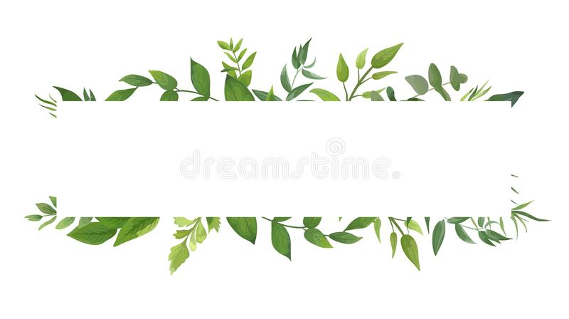 Wallpaper Fall Farmhouse Vector Card Design With Green Fern Leaves Elegant Greenery