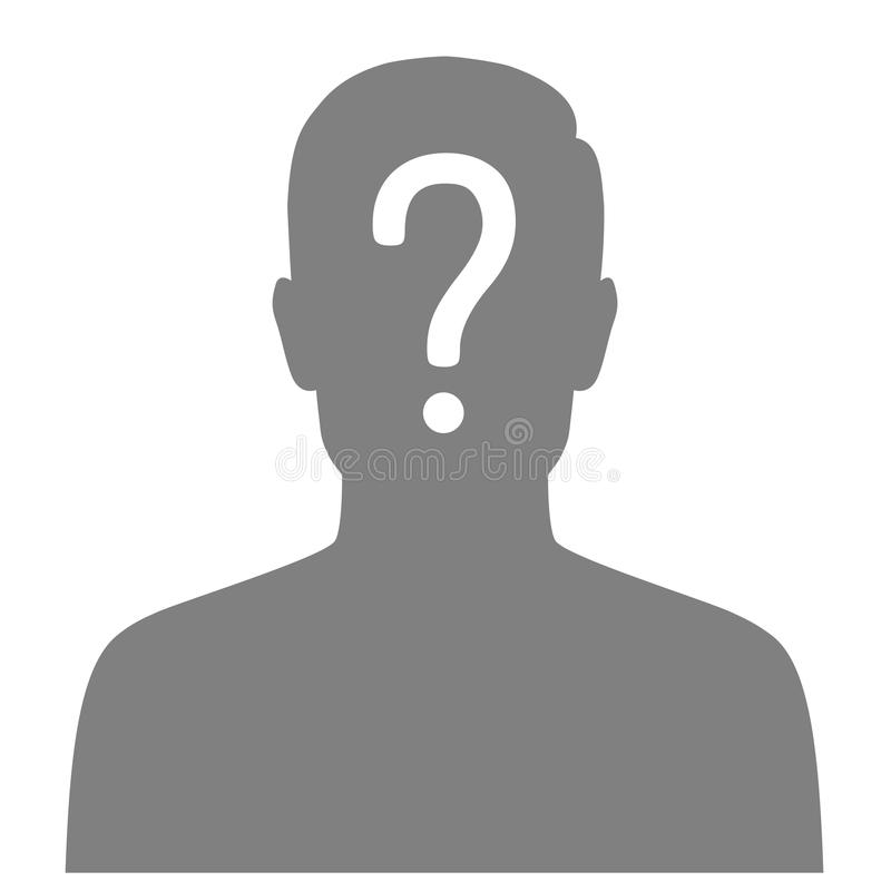 Missing Person, Graphic Wanted Poster, Lost Anonymous Stock Vector - lost person poster