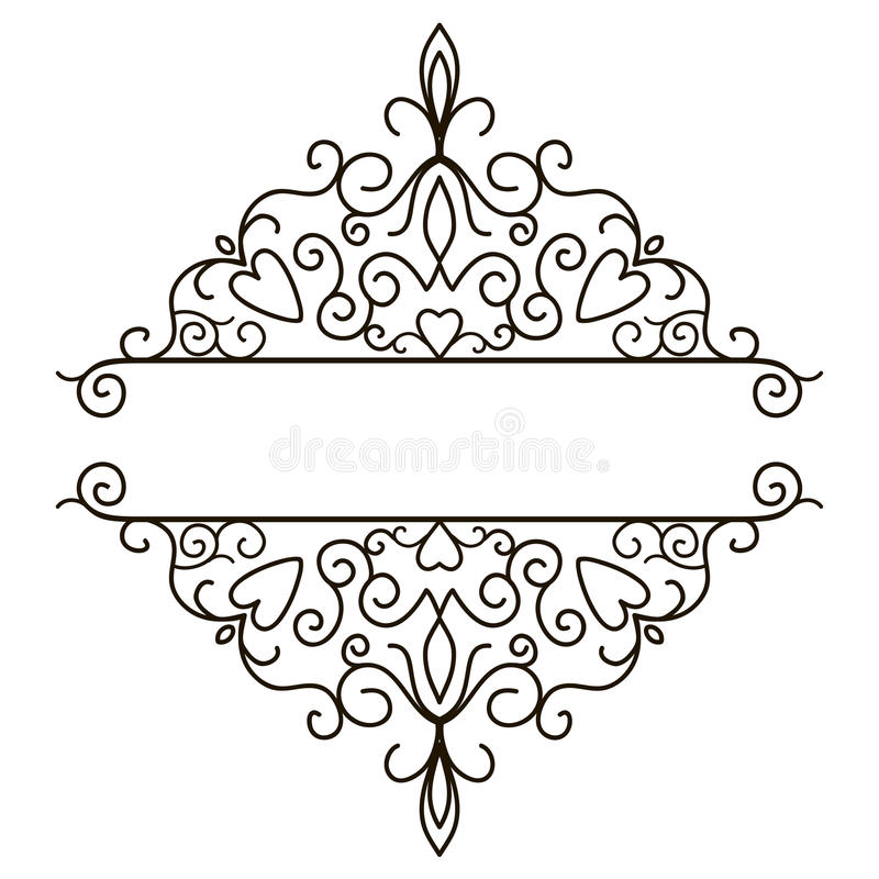elegant black and white border design - Apmayssconstruction