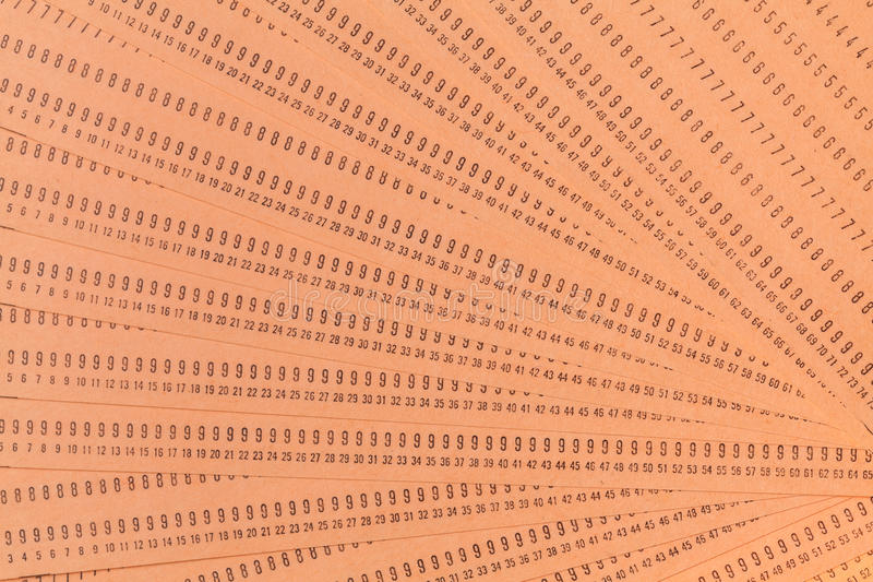 Vintage Unused Computer Punch Cards Stock Photo - Image of punch - punch cards
