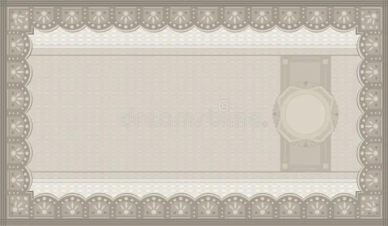 Voucher coupon paper stock vector Illustration of business - 34196865 - blank voucher
