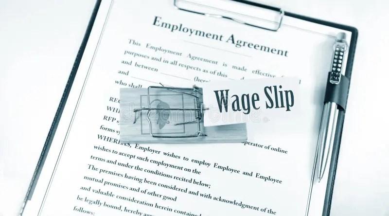 Wage slip stock image Image of dangerous, illegal, document - 18566271 - blank wage slips